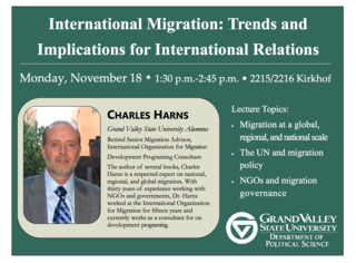 Charles Harns lecture Intl Migration