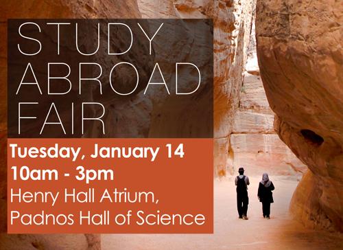 Study Abroad Fair W2014